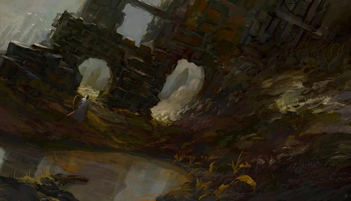 ruins by sangvine