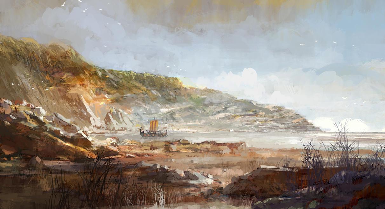 vikings by sangvine