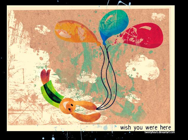wish you were here by twentyhours