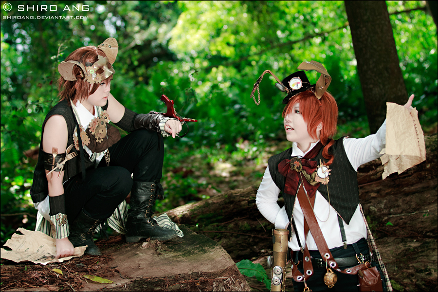 Steampunk con aire a cuentos Alice_in_steampunkland___05_by_shiroang-d3b1gkt