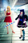 Panty N Stocking with Brief 08