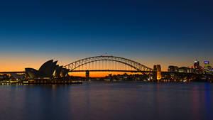 Sydney Opera House and Harbour Bridge - 01