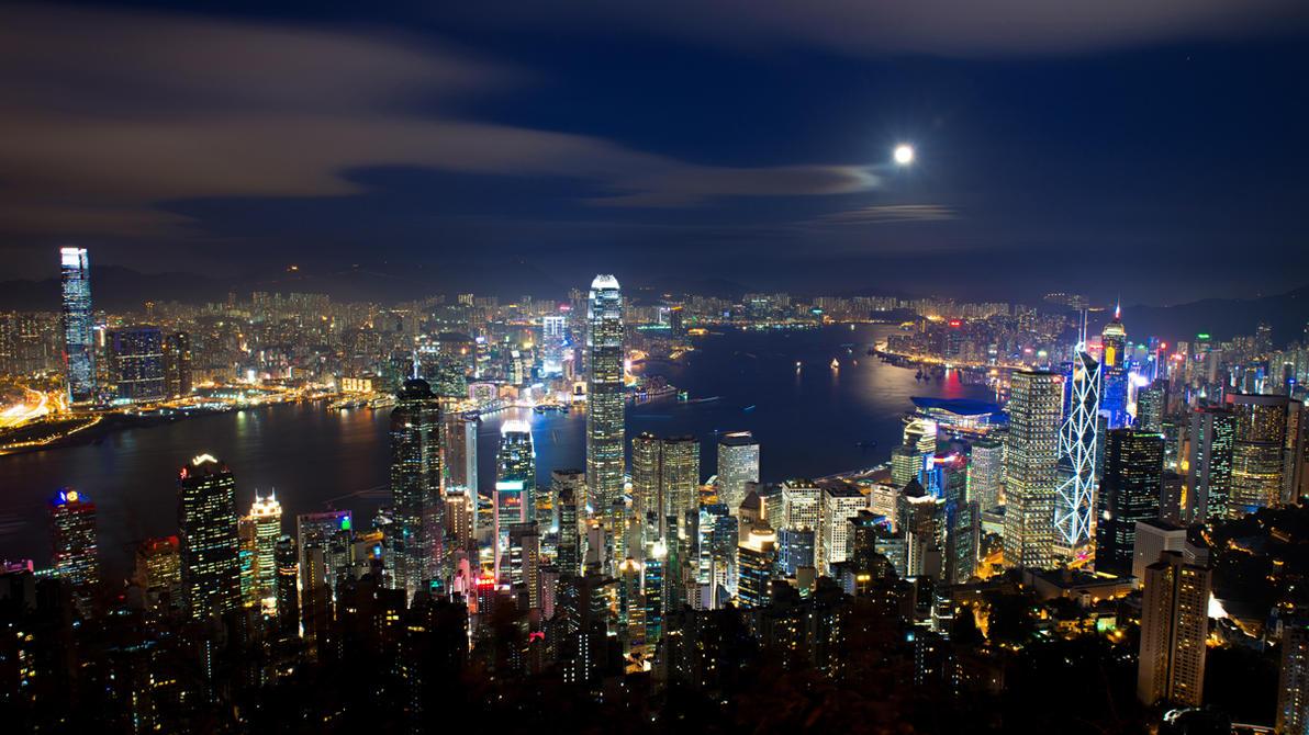Hong Kong - Victoria Peak by shiroang