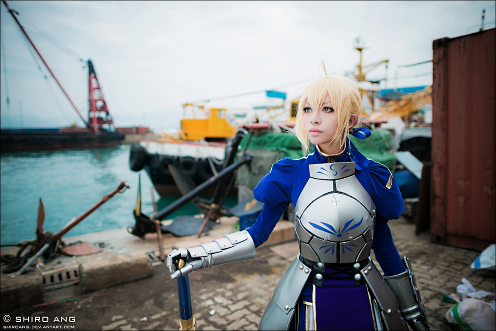 Saber fate zero cosplay
