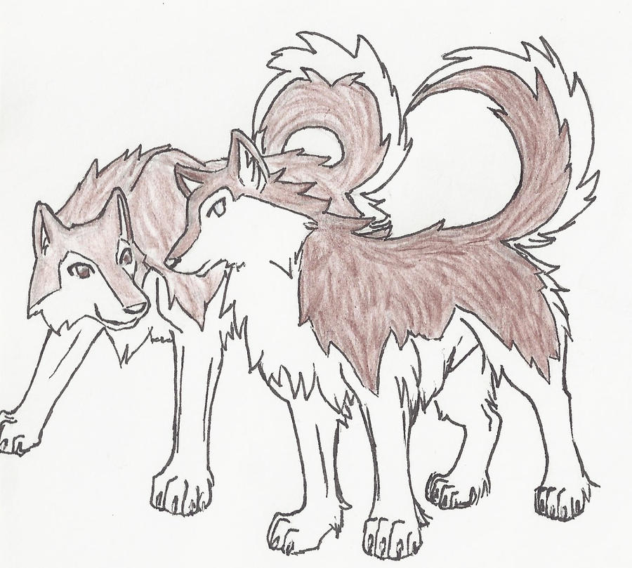 Neji and tenten wolves by we howl at the moon on deviantart neji and tenten wolves by we howl at the moon ccuart Choice Image