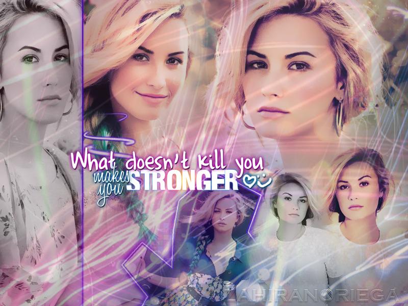 Demi Lovato BLEND by JustWanaMakeYouSweat