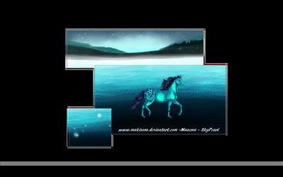 Mysterious Lake ~ by MakiSora