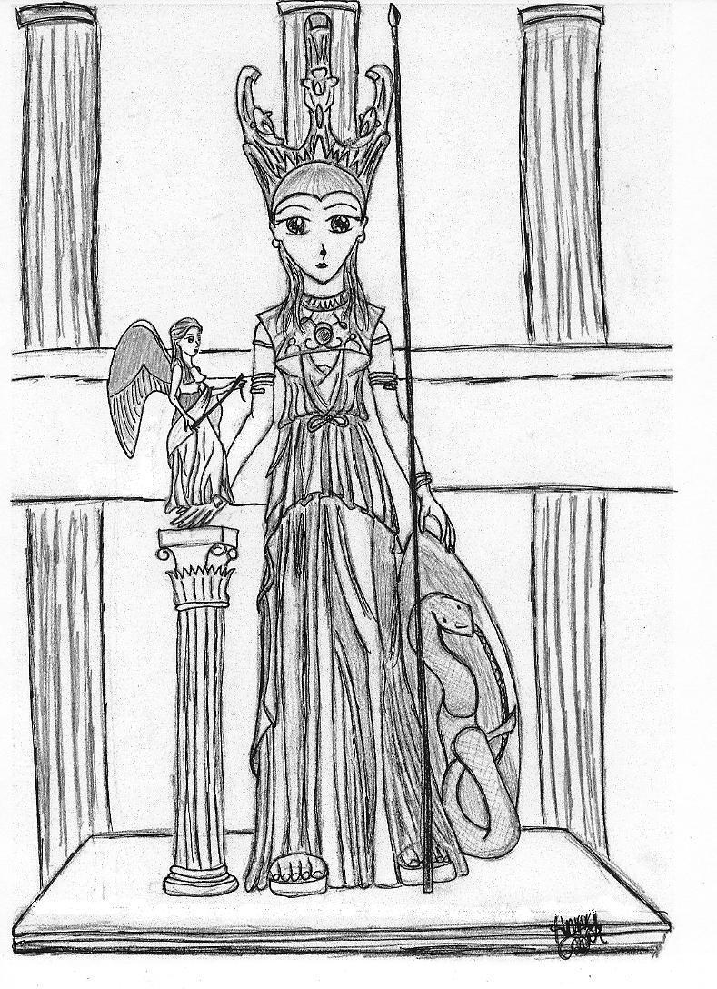 Athena Parthenos Athena Parthenos by Anime