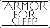 :Stamp: Armor For Sleep by RaveLegend