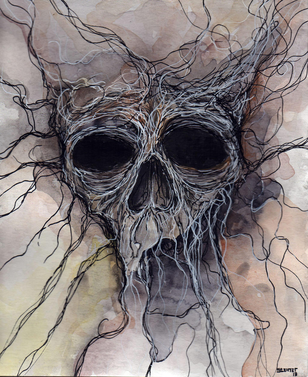 Skull P01 by Narcisse-Shrapnel
