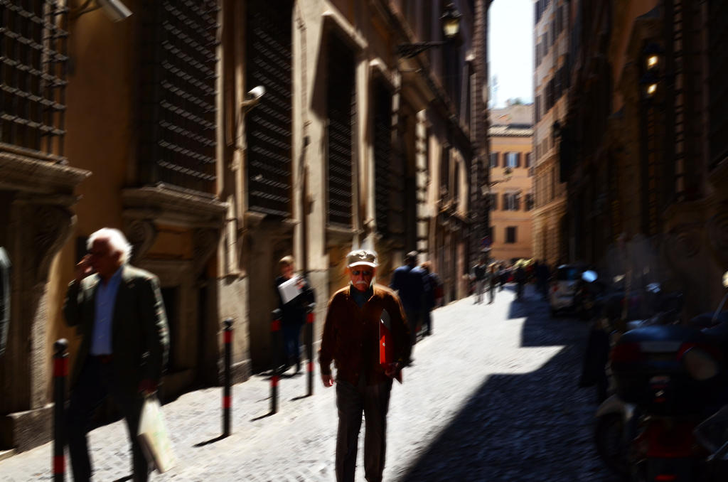 A man in Roma by ManonMorel
