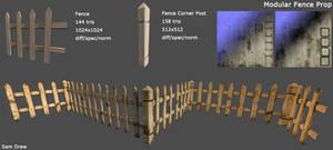 Modular Fence Prop
