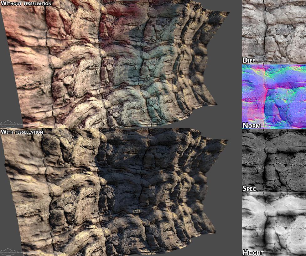 Cliffs by samdrewpictures