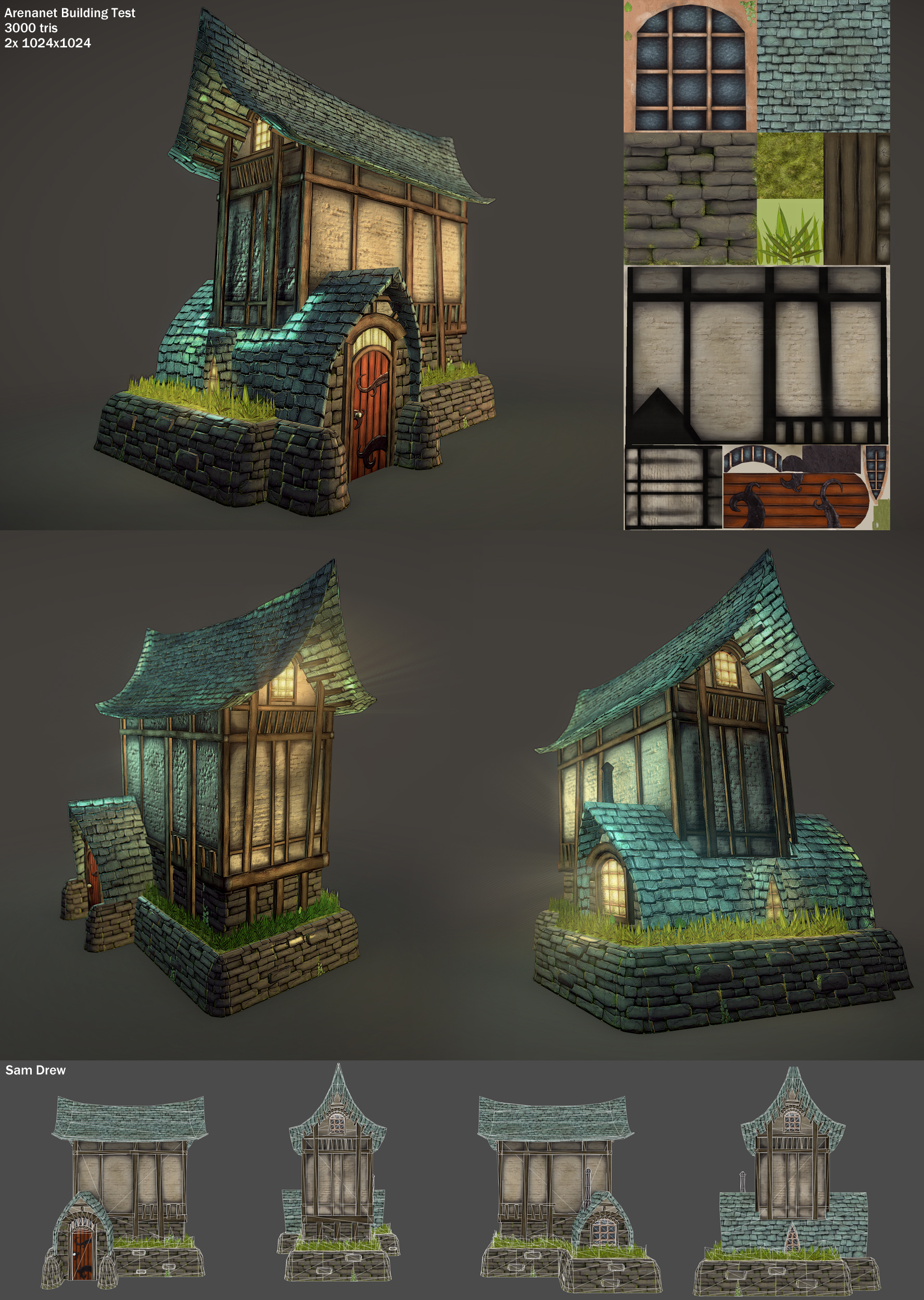Arenanet Building Test by samdrewpictures