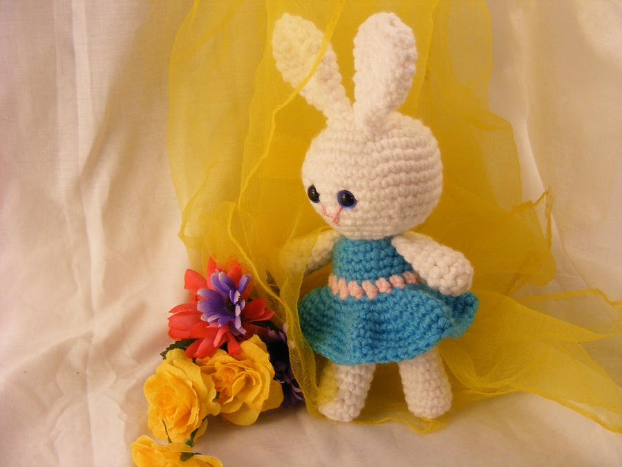 Amigurumi Spring Bunny : Amigurumi Easter Bunny by CraftedKansas on DeviantArt