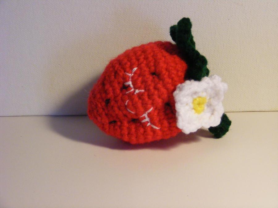 Amigurumi Strawberry Doll Pattern : Amigurumi Strawberry by CraftedKansas on deviantART