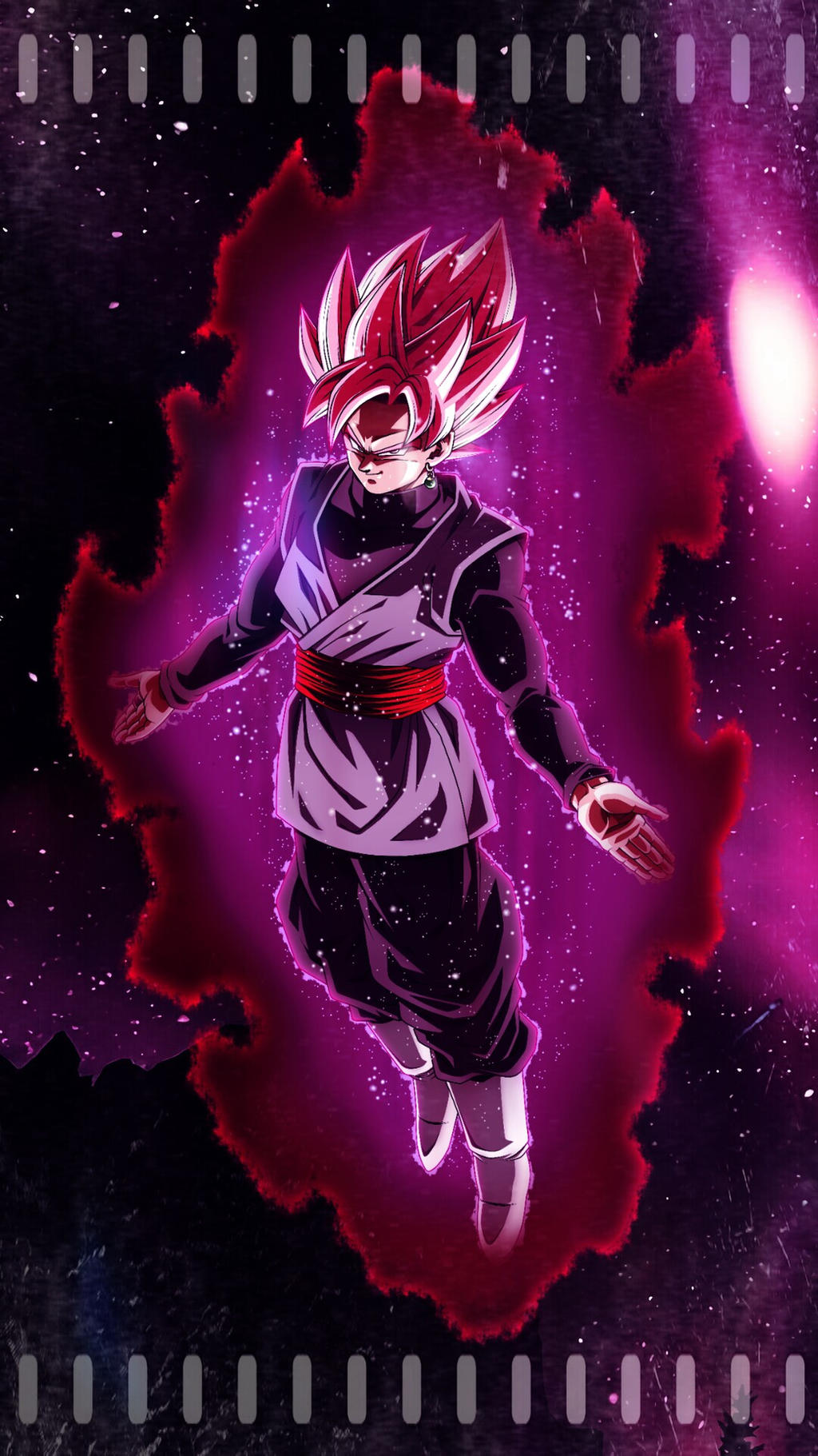 Goku Black Ssj Rose Wallpaper By Victor90900 On Deviantart