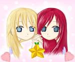 Namine and Kairi