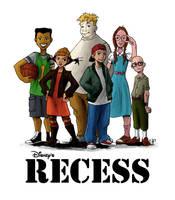 The Disney's Recess by Gratte-papier