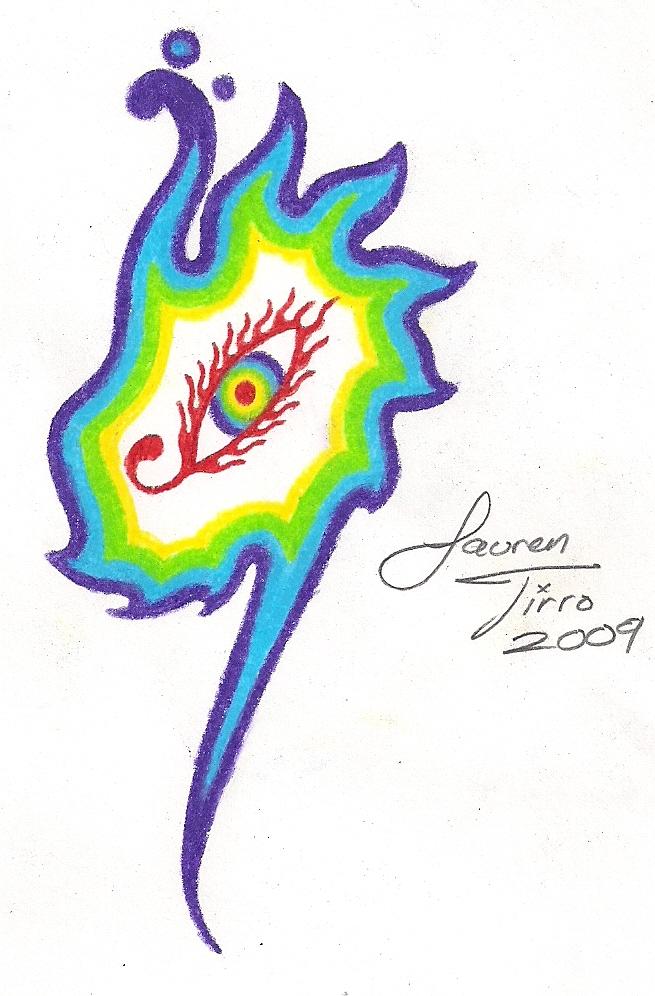 Third Eye Tattoo by LaurenTirroArt