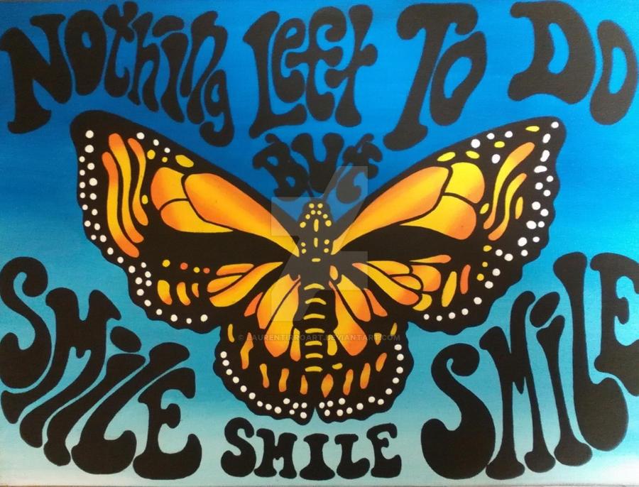 Butterfly Stealie by LaurenTirroArt