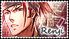 Renji Abarai_ Bleach_stamp by MissCaelum