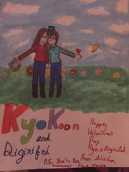Kyokoon and Diginfied by FeilcinoVargas