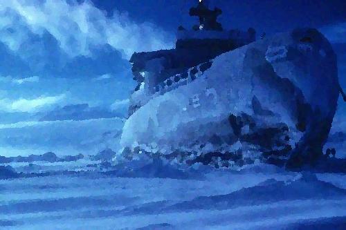 USS Atka Ice breaker by floydiac