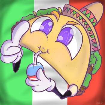 Taco PFP request! Complete~ by AsisKotsuro