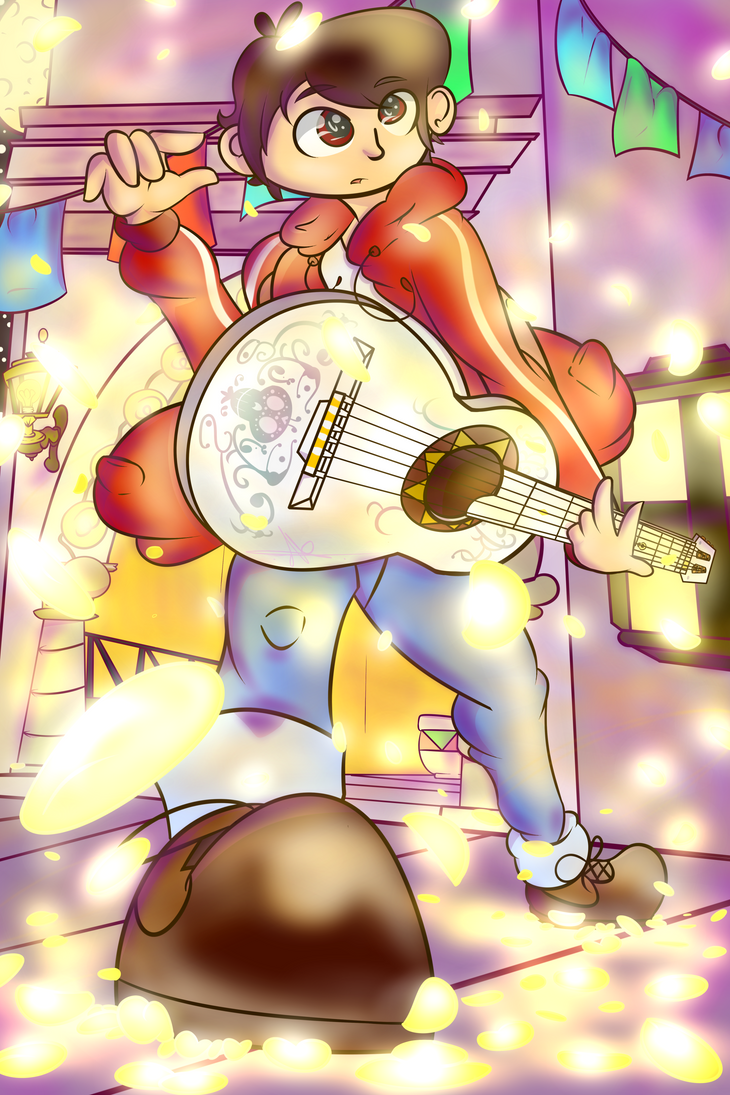 Miguel guitar playing by AsisKotsuro