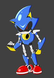 Metal Sonic forward