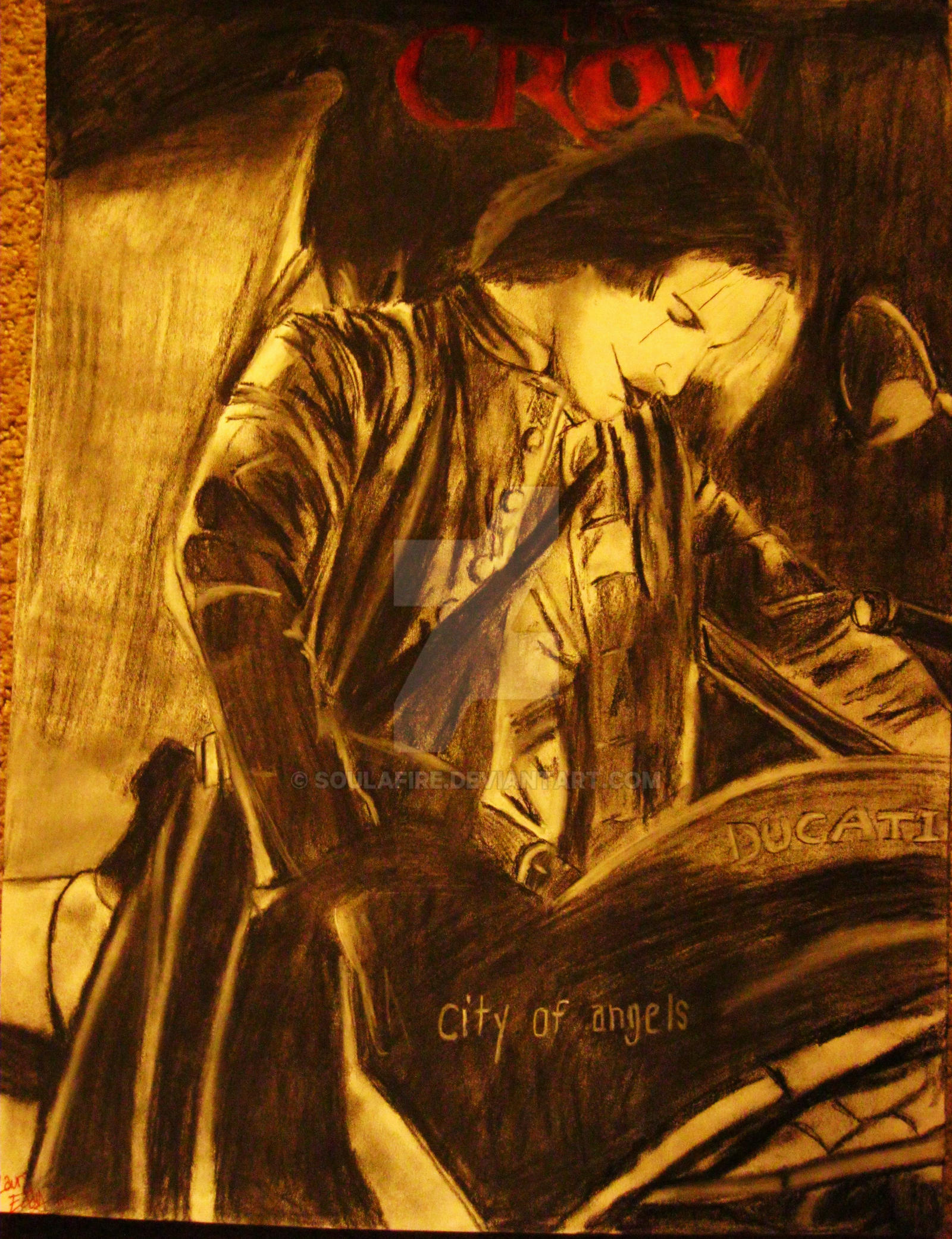 The crow city of angels logo - photo#5