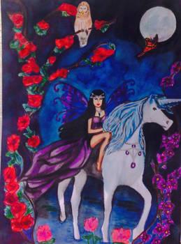 Licorne et fee