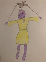 Magical Demon Sheep Puppet