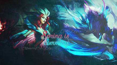 Spring is Comming! - League of Legends Wallpaper by KashiRose