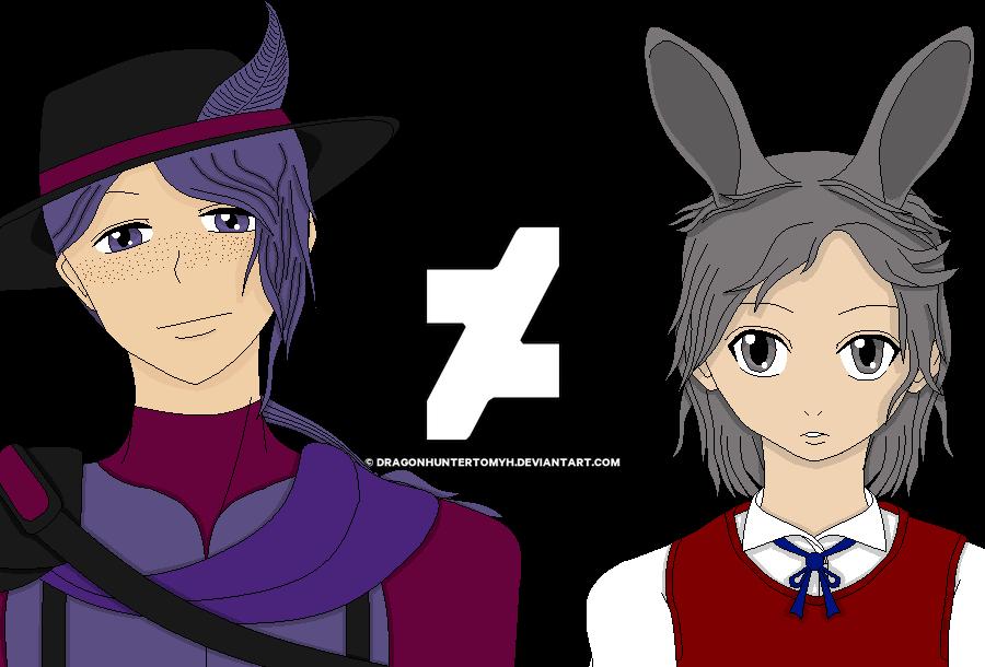 Tyrian and Pastel by DragonhunterTomyh