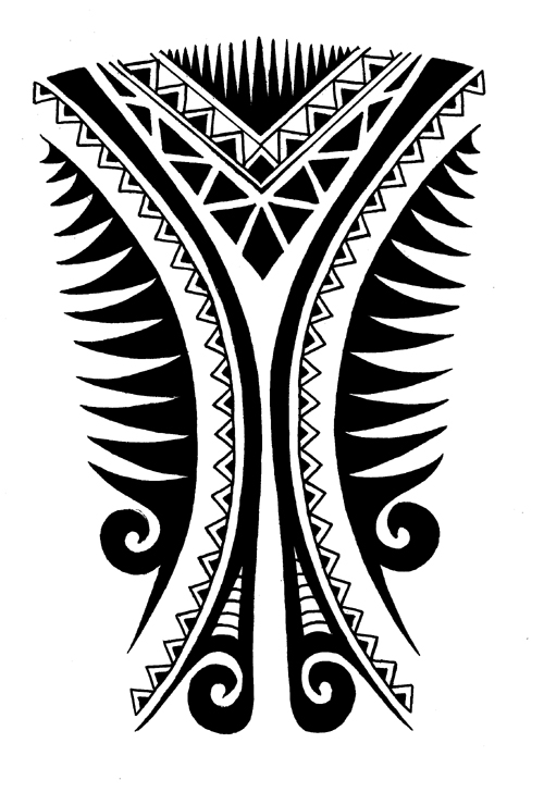 Calf tattoo design 2 by jinx2304