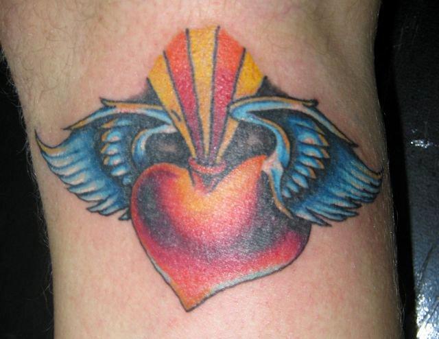 sacred heart tattoo by jinx2304 on deviantart. Black Bedroom Furniture Sets. Home Design Ideas
