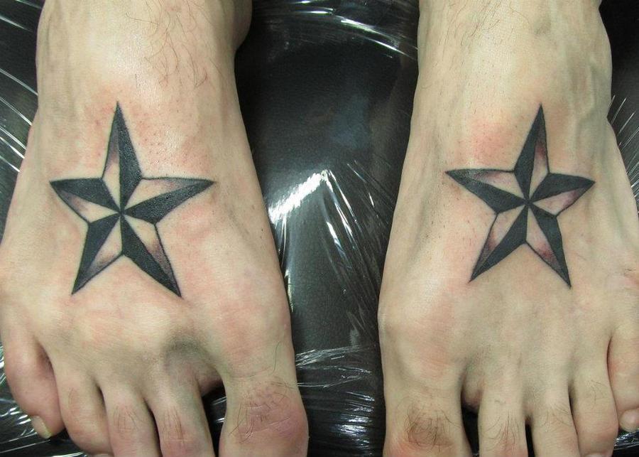 Nautical Star Tattoo by jinx2304 on DeviantArt