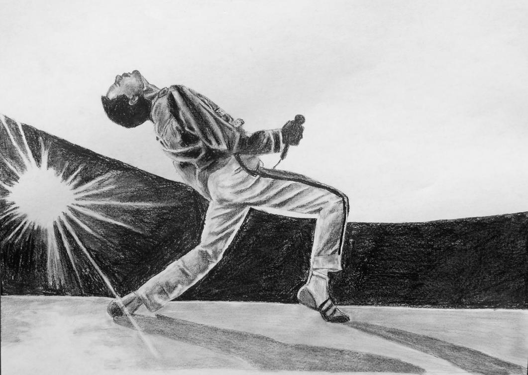 Freddie Mercury by Claire-Elise17 on DeviantArt
