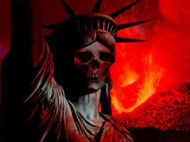 liberty's death by MattiaTegonCreations