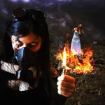 inside the fire by MattiaTegonCreations