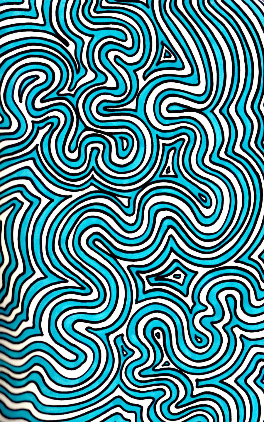 By Art Lines : Squiggly lines by loveheals on deviantart