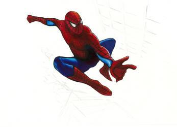 Spiderman by Hymnodi