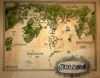 Map of Mundana by Hymnodi