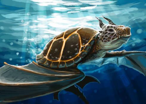 Smaugust 30: Dragon Turtle