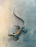 Art year 2021 - Day 11: Lizard
