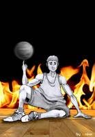 I Love Basket by Wnine