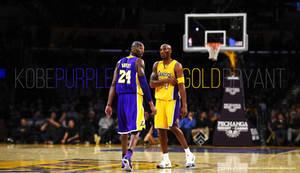 Kobe Bryant Purple and Gold by Wnine by Wnine