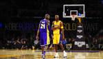 Kobe Bryant Purple and Gold by Wnine